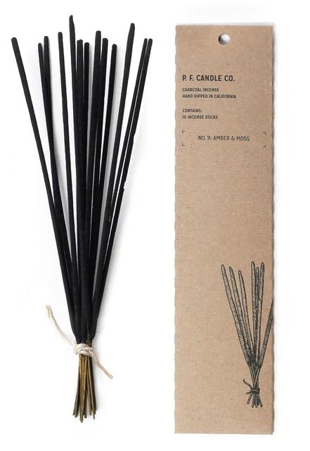 Amber & Moss - Incense
