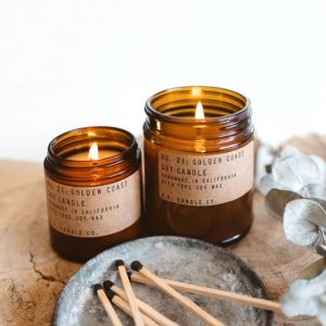 Bougies PF Candle - golden coast